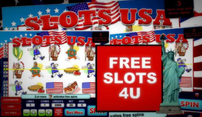 Play Free Online Slots Usa Without Having To Download Anything